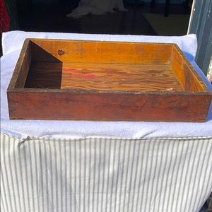 Vintage Anthropologie style machinist tray